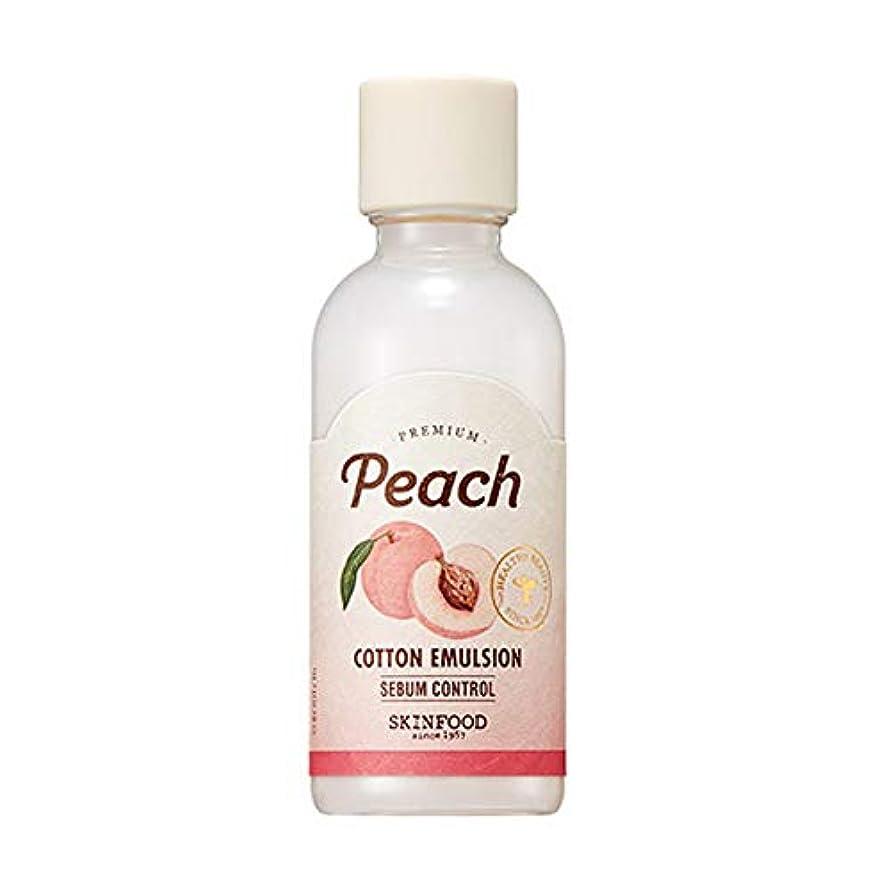 三十悔い改め動物園Skinfood プレミアムピーチコットンエマルジョン/Premium Peach Cotton Emulsion 160ml [並行輸入品]