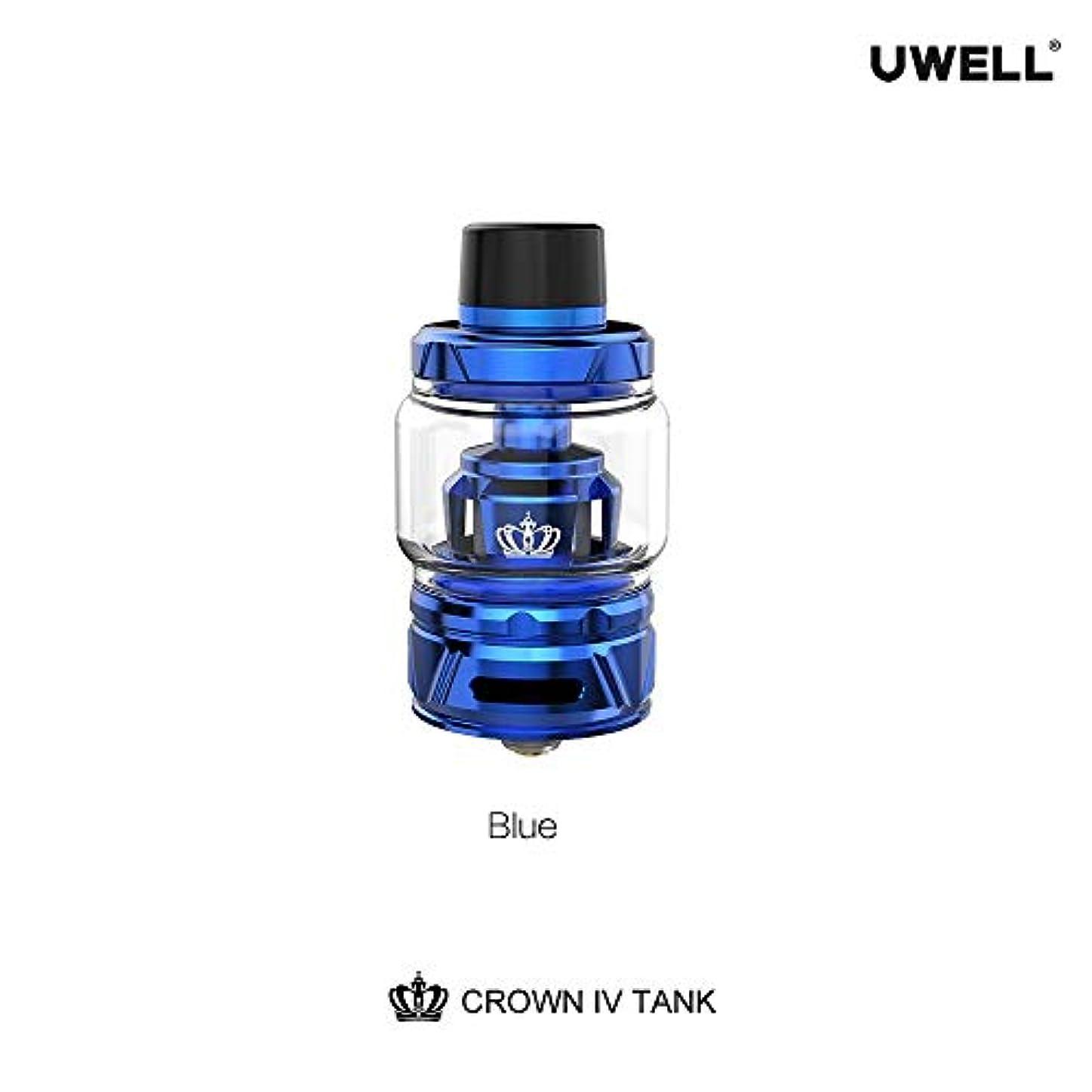素晴らしいです端末プロトタイプ正規品 Original UWELL Crown IV Tank ブルー 電子タバコ用 アトマイザー