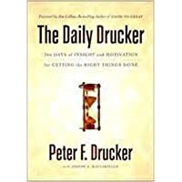 THE DAILY DRUCKER [Paperback] [Jan 01, 2017] PETER F DRUCKER