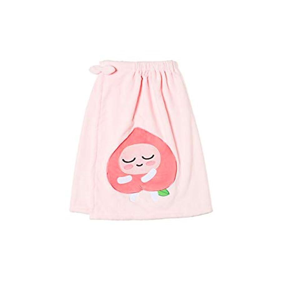 法廷マルクス主義者封筒[オフィシャル] カカオフレンズ – スイートアピーチ バスドレスガウンピンク KAKAO FRIENDS - Sweet Apeach Bath Dress Pink
