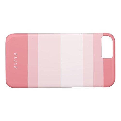 桃色の珊瑚のピンクの勾配ColorblockiPhone7ケース iphone7 衝撃吸収 ハードケース アイホン7用カバー iPhone7保護ケース おしゃれ 高級感 手触り良い
