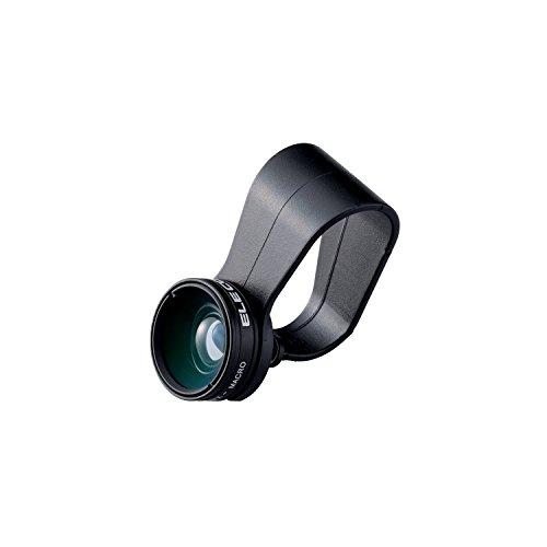 エレコム セルカレンズ/0.67倍広角レンズ マクロレンズ付 ブラック P-SL067BK 1個