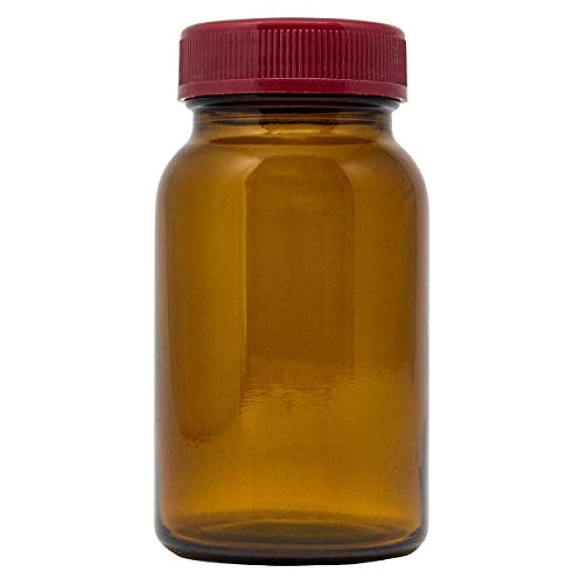 稚魚即席円形広口ガラス瓶 120ml