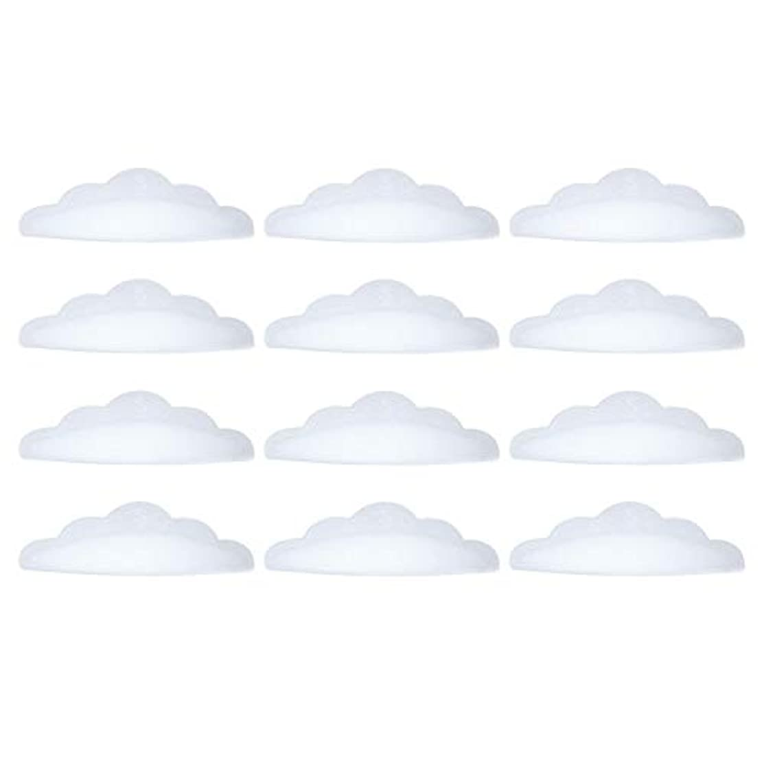 影顕著有効化Migavan 9ペア シリコーンまつげパッド まつげパーマパッド防水シリコーンまつげパーマカーラーシールドパッドアイラッシュリフトホルダー