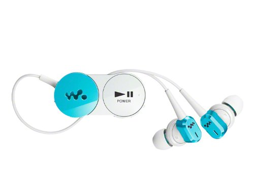 SONY カナル型ワイヤレスイヤホン ウォークマン用 ノイズキャンセリング Bluetooth対応 ブルー MDR-NWBT10N/L