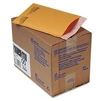 Jiffylite Self-Seal Mailer, Side Seam, #00, 5 x 10, Golden Brown, 25/Carton (並行輸入品)