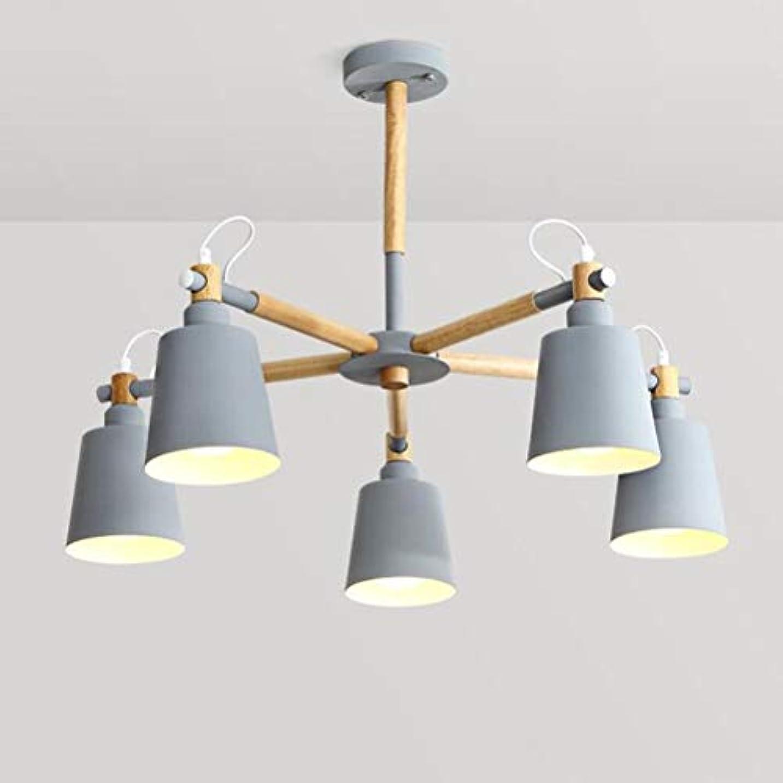 開いたストッキングゲインセイ5頭は、北欧のリビングルームランプ、シャンデリアの天井のライトはレストランのためのハンギング
