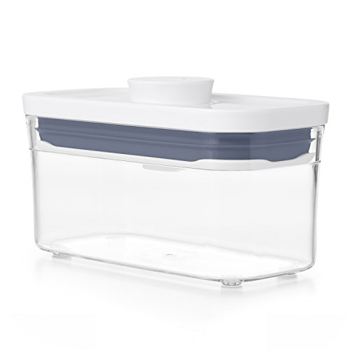 OXO 保存容器 プラスチック ポップコンテナ 新タイプ スリムレクタングル ミニ