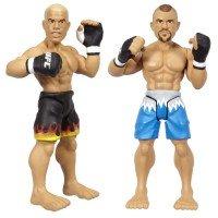 UFC Ultimate Fighting Jakks Pacific Series 1 Micro Figure 2Pack Chuck Lidell vs. Tito Ortiz UFC 47 by UFC