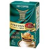 KEY COFFEE(キーコーヒー) ドリップ オン トアルコ トラジャ 8g×5袋×5箱入×(2ケース)
