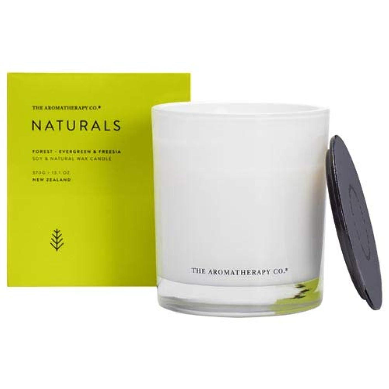 セール詳細な威信アロマセラピーカンパニー(Aromatherapy Company) new NATURALS ナチュラルズ Candle キャンドル Forest フォレスト(森林) Evergreen & Freesia エバーグリーン...