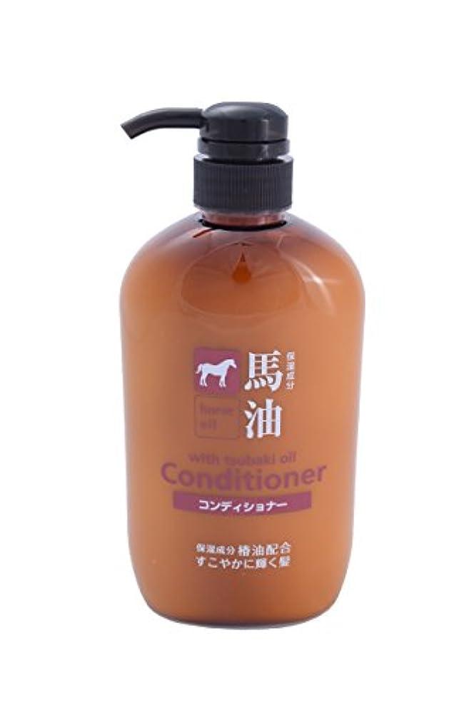 犬舌難民熊野油脂 馬油コンディショナー 600ml