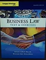 Business Law + Mindtap Business Law, 1 Term 6 Months Access Card: Text & Exercises