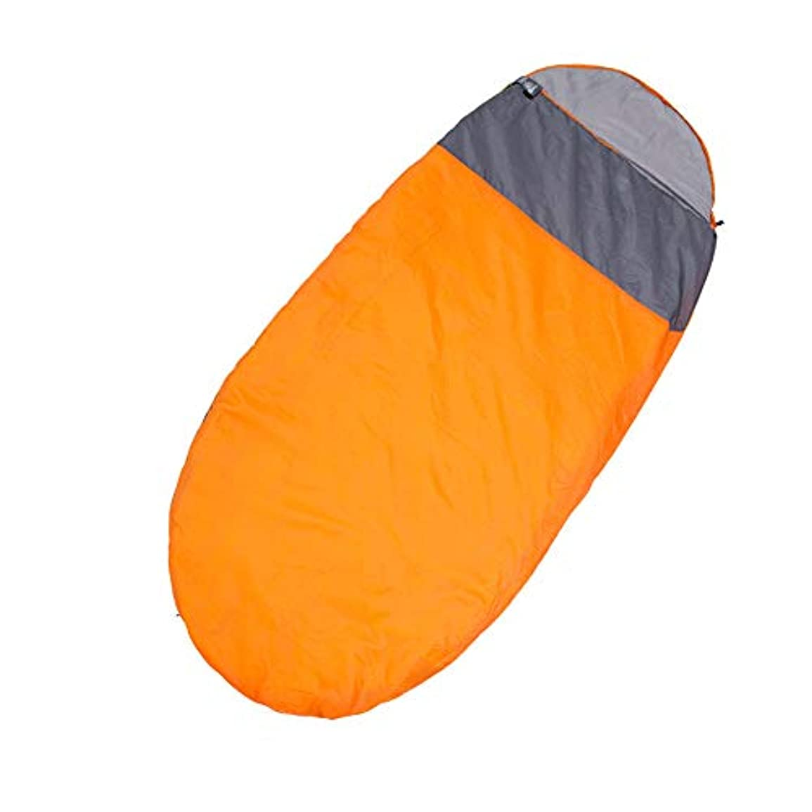 開梱つば有毒なミイラの寝袋の卵のタイプ、ポータブル、ウェットと換気、洗える、アウトドアハイキングキャンプ必須、大人に適して