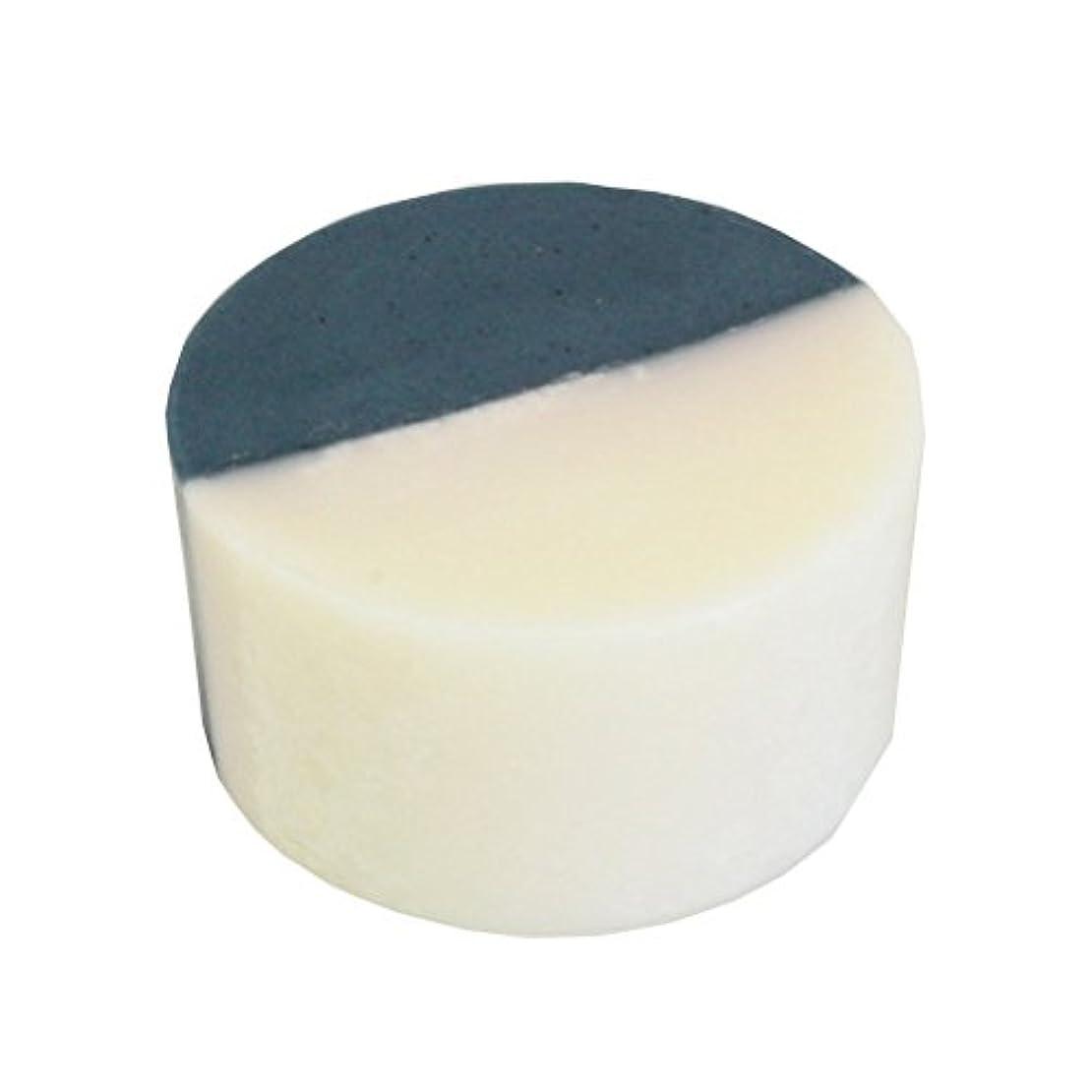 ヒューム綺麗な説得力のある藍色工房 藍染め石けん「ふたえ」(60g)