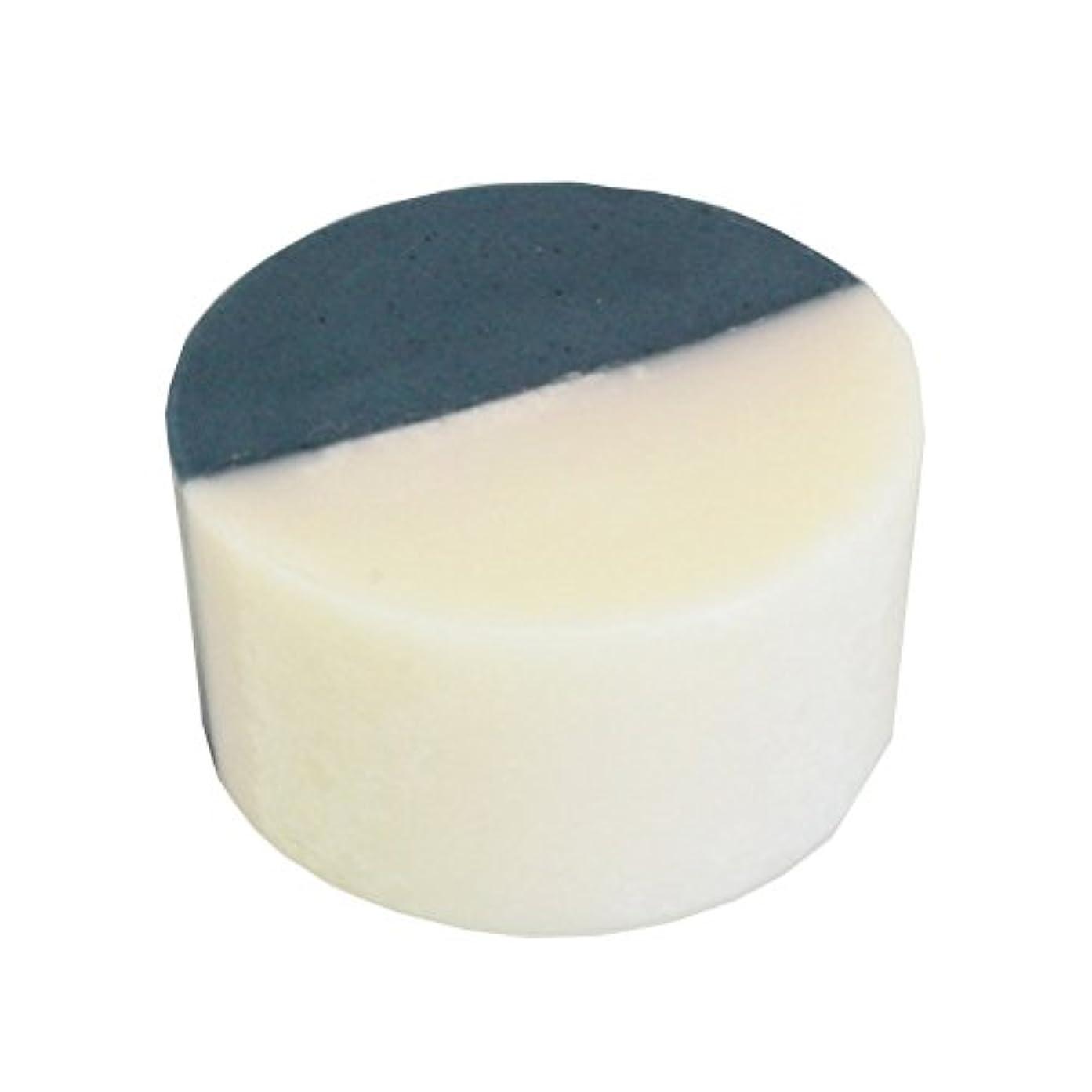 故意の間違い最小藍色工房 藍染め石けん「ふたえ」(60g)
