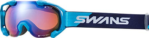 SWANS(スワンズ)C2N 偏光ミラーレンズ スノーゴーグル スキー スノーボード 大人用 C2N-MPDH-SC-PAF NBL F