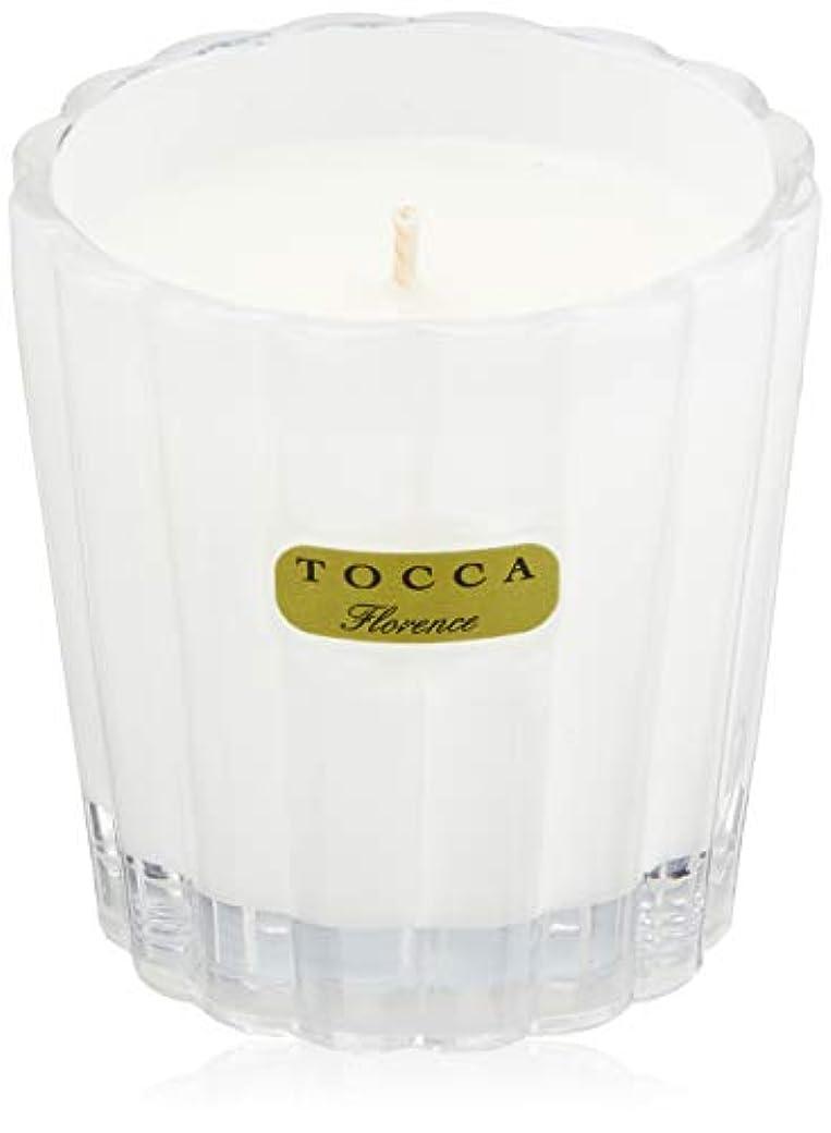 スピーカー不適当大西洋トッカ(TOCCA) キャンデリーナ フローレンスの香り 約85g (キャンドル ろうそく 上品なフローラルの香り)