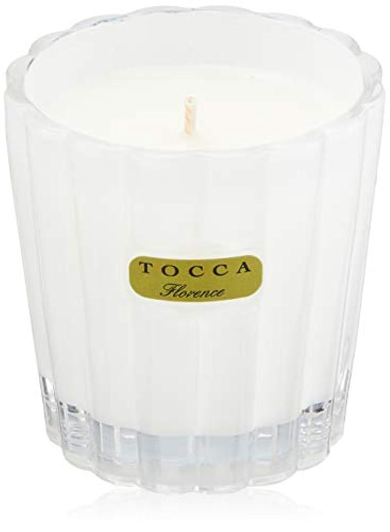 薄いです怖がらせる合成トッカ(TOCCA) キャンデリーナ フローレンスの香り 約85g (キャンドル ろうそく 上品なフローラルの香り)