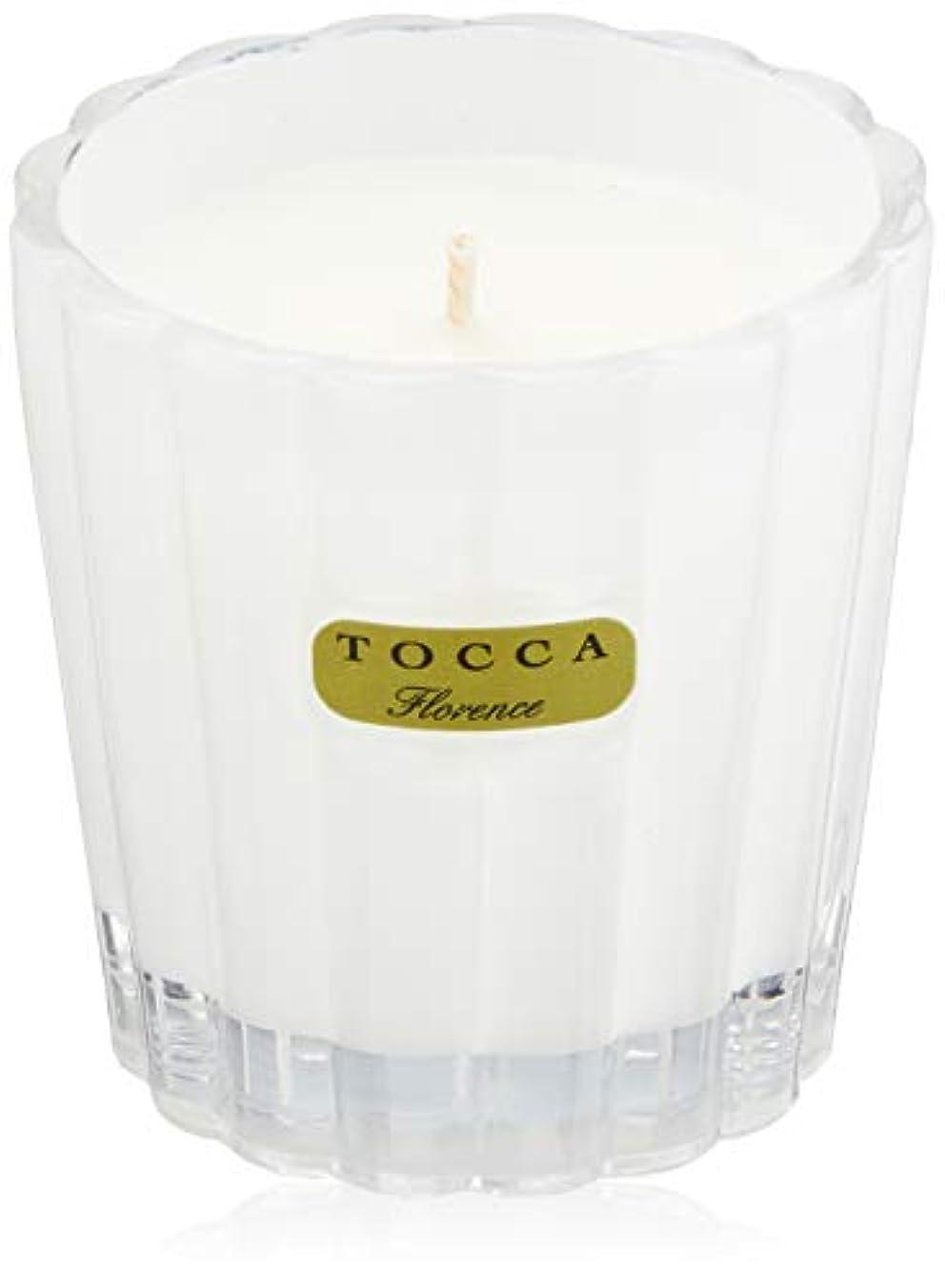 電話するインペリアルサスティーントッカ(TOCCA) キャンデリーナ フローレンスの香り 約85g (キャンドル ろうそく 上品なフローラルの香り)