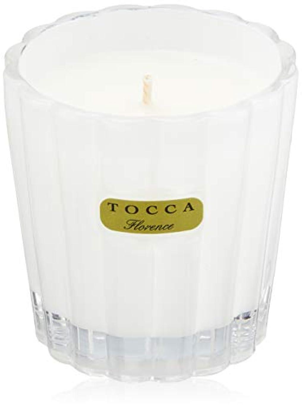 扱いやすいアドバンテージ外交官トッカ(TOCCA) キャンデリーナ フローレンスの香り 約85g (キャンドル ろうそく 上品なフローラルの香り)