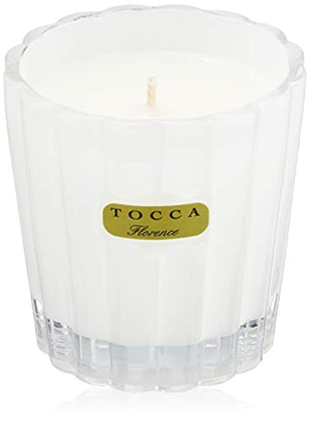 レオナルドダアブセイ贅沢トッカ(TOCCA) キャンデリーナ フローレンスの香り 約85g (キャンドル ろうそく 上品なフローラルの香り)