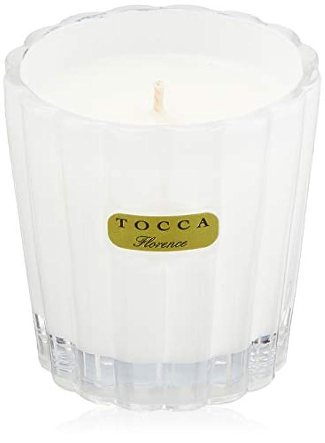 垂直側通知トッカ(TOCCA) キャンデリーナ フローレンスの香り 約85g (キャンドル ろうそく 上品なフローラルの香り)