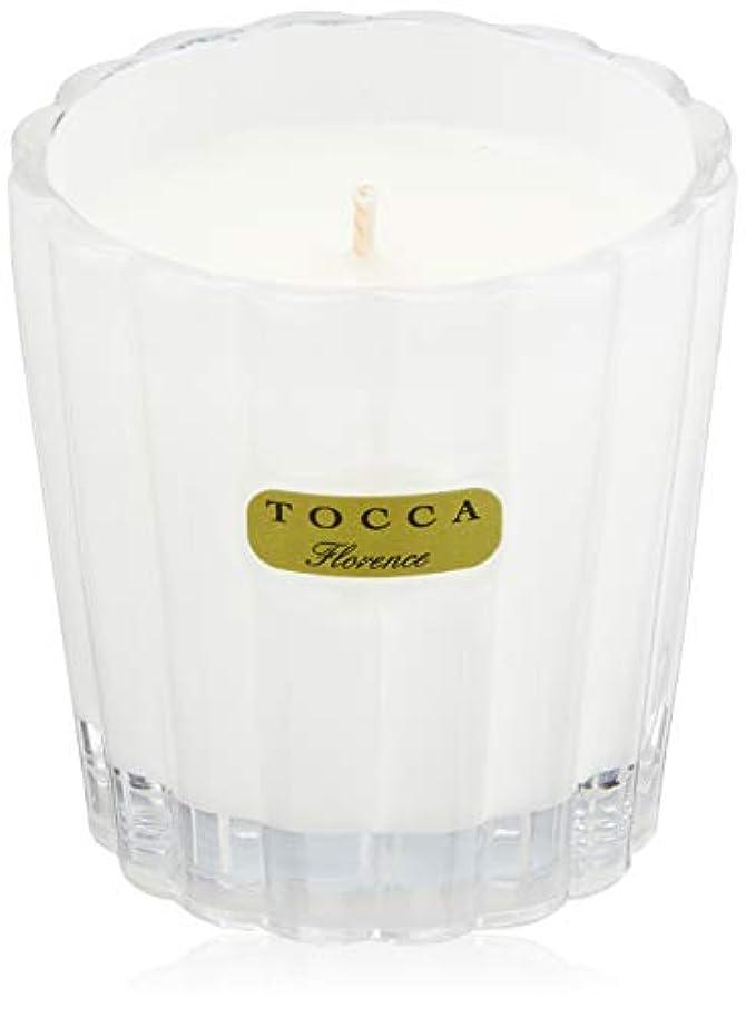 ずんぐりした同性愛者旅行者トッカ(TOCCA) キャンデリーナ フローレンスの香り 約85g (キャンドル ろうそく 上品なフローラルの香り)
