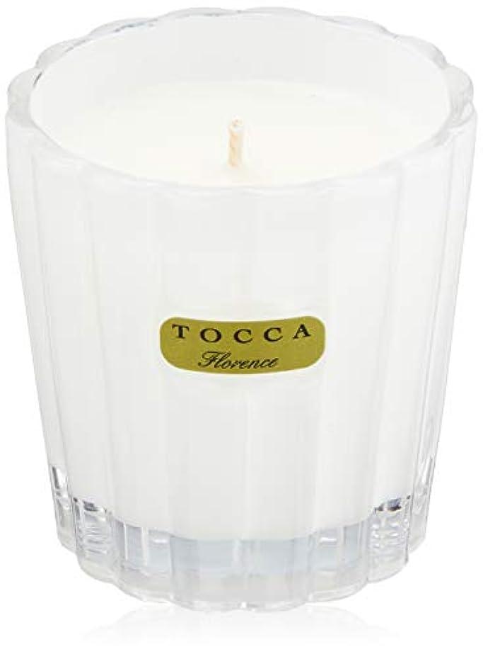 政治家遺伝子災害トッカ(TOCCA) キャンデリーナ フローレンスの香り 約85g (キャンドル ろうそく 上品なフローラルの香り)
