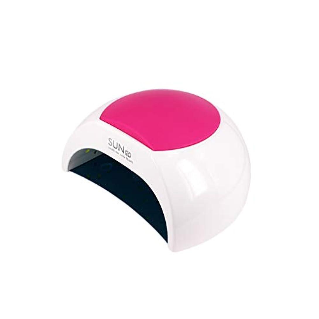 ネイルドライヤー、48W LEDネイルドライヤージェルマニキュア用高速硬化ランプおよび自動センサー付きつま先ネイル硬化