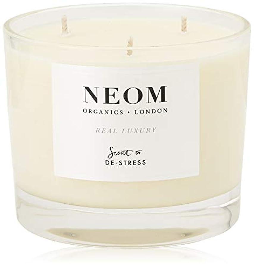NEOM センテッドキャンドル (3ウィック/420g) REAL LUXURY(DE-STRESS)