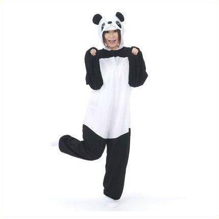 アニマルコスチューム 着ぐるみ ジャンプスーツ パンダ 大人サイズ