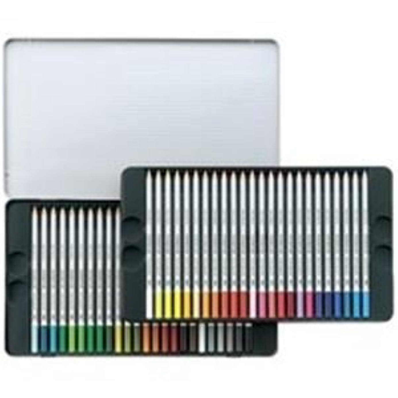 脱臼する必須石(業務用3セット) ステッドラー カラト水彩色鉛筆 125M48 48色