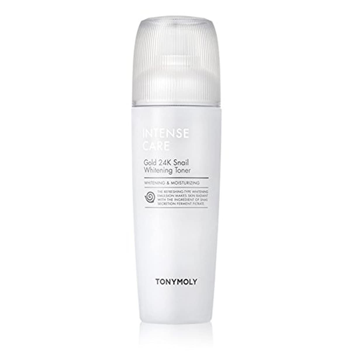 湿地しばしば建物トニモリー TONYMOLY Intense Care Gold 24K Snail Whitening Toner 130ml