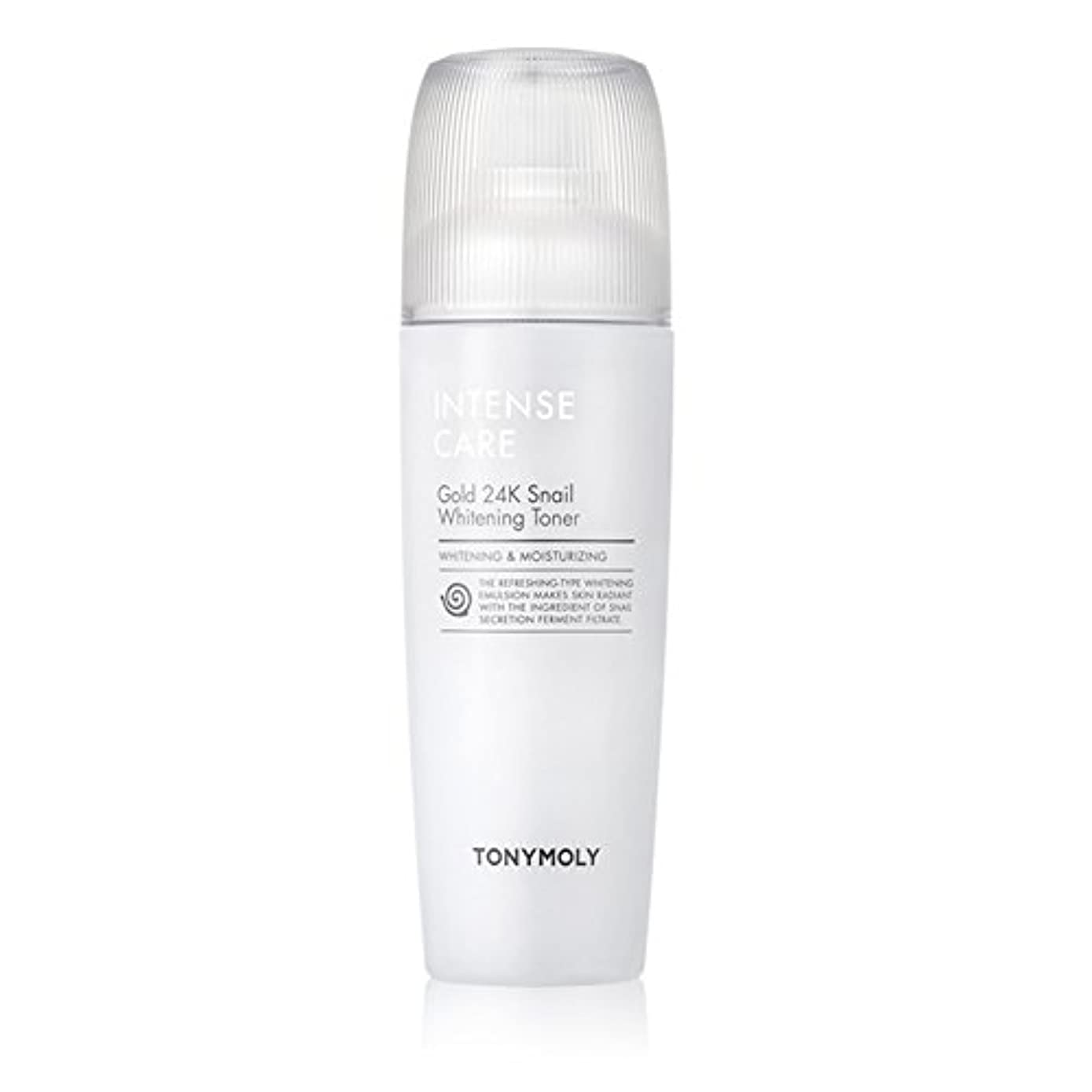 例示する正直関係ないトニモリー TONYMOLY Intense Care Gold 24K Snail Whitening Toner 130ml