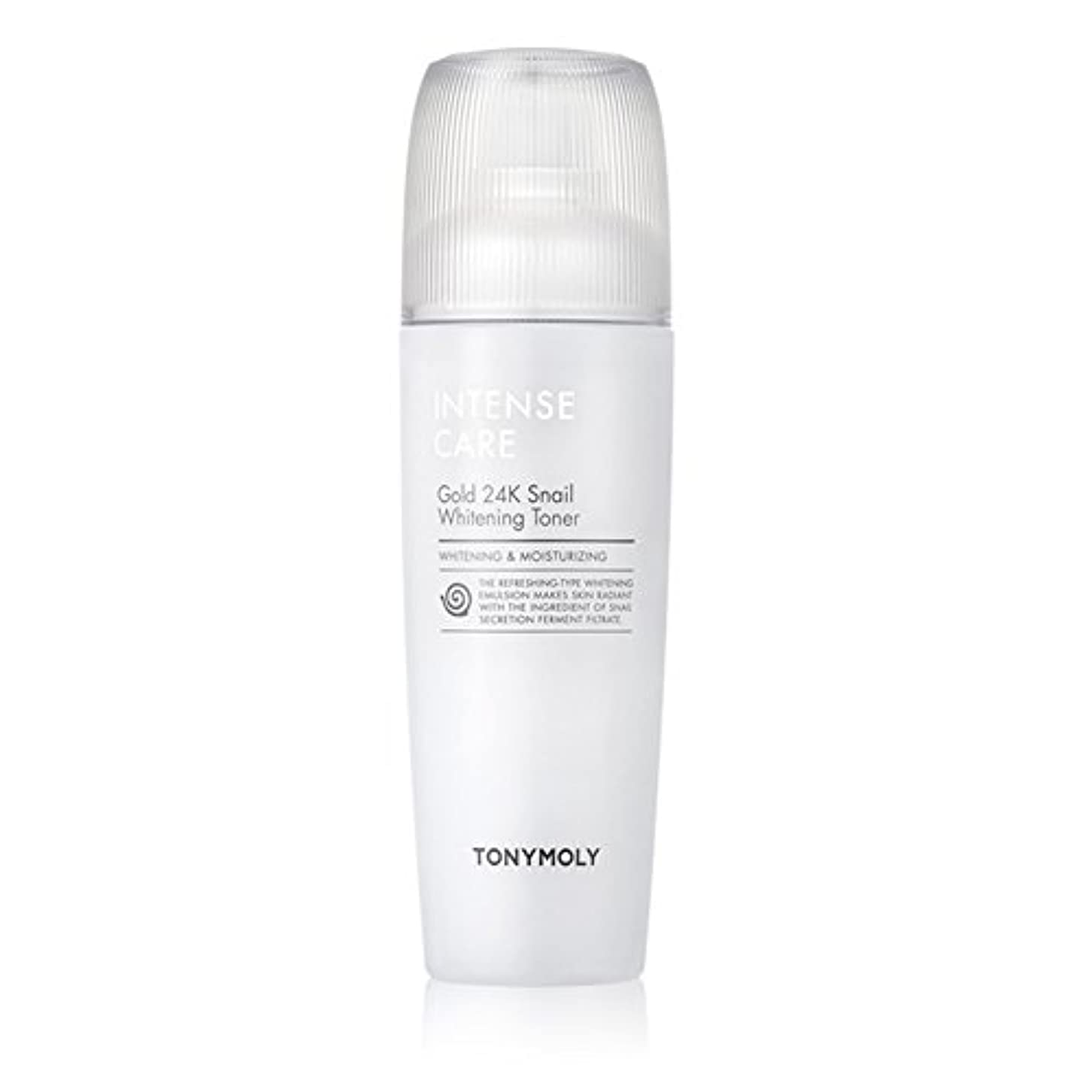 負荷トーン未使用トニモリー TONYMOLY Intense Care Gold 24K Snail Whitening Toner 130ml