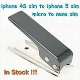 【アチーバー】 Nano SIM カッター マイクロ SIM カード (iPhone4/4S用) を Nano SIM ( iPhone5 用) に