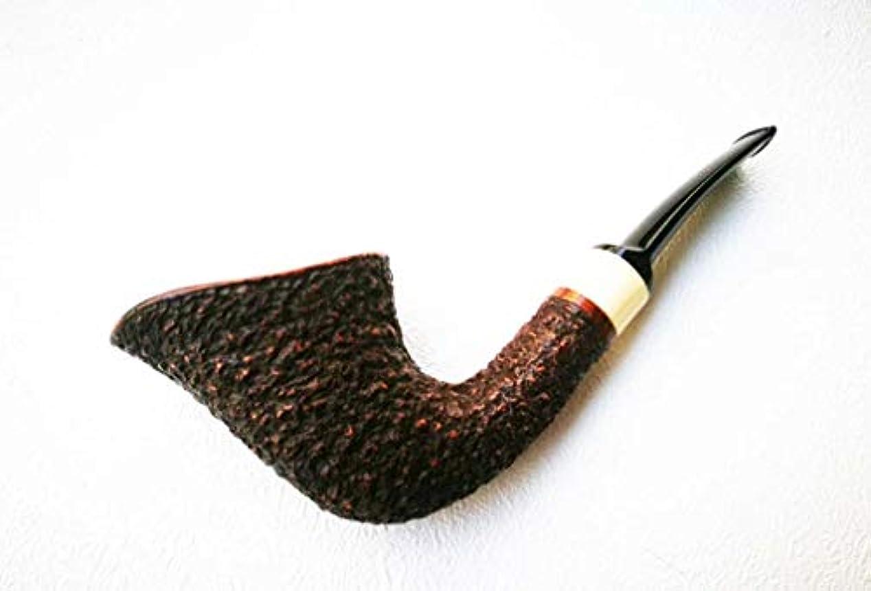 鼓舞するうれしいほこり麻雀のレトロな曲げられた純木のタバコの管、ハンドメイドのタバコフィルターメンズ喫煙、
