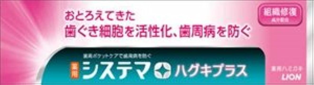 【ライオン】【システマ】システマ ハグキプラスハミガキ 90g【90G】×60点セット (4903301216803)