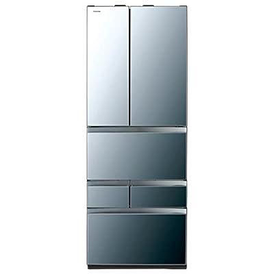 東芝 冷凍冷蔵庫 VEGETA GR-K510FWX(X) ダイヤモンドミラー 509L GR-K510FWX(X)