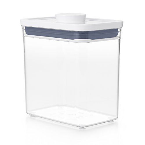 OXO 保存容器 プラスチック 1.6L ポップコンテナ2 新タイプ レクタングル ショート 11234600
