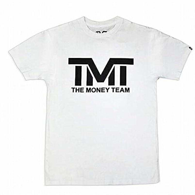 反映する放射するファブリック(ザ?マネーチーム) THE MONEY TEAM TMT 正規輸入品 MS104-2WK Tシャツ 白ベース×黒 フロイド?メイウェザー?ジュニアコレクション Tシャツ メンズ 半袖 ボクシング アメリカ