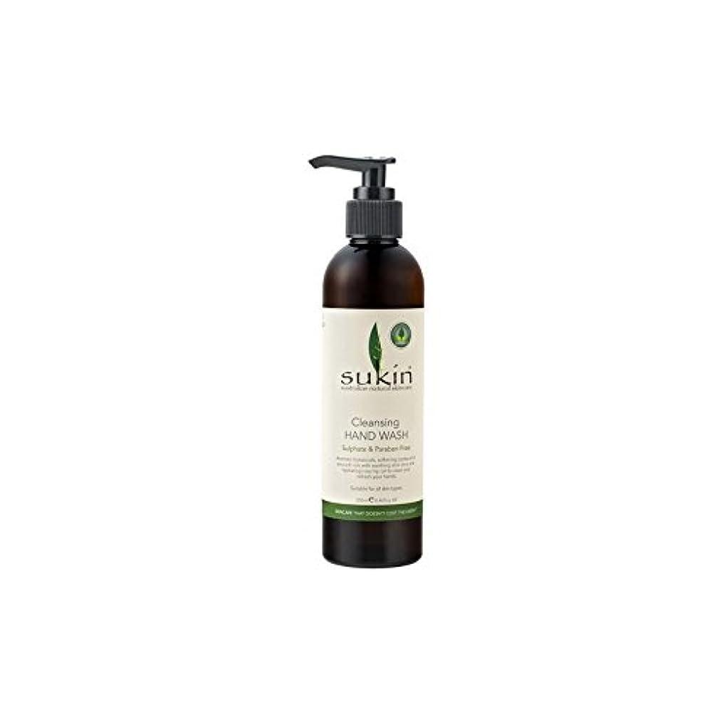 チャーム環境に優しい保全Sukin Cleansing Hand Wash (250ml) (Pack of 6) - クレンジングハンドウォッシュ(250ミリリットル) x6 [並行輸入品]