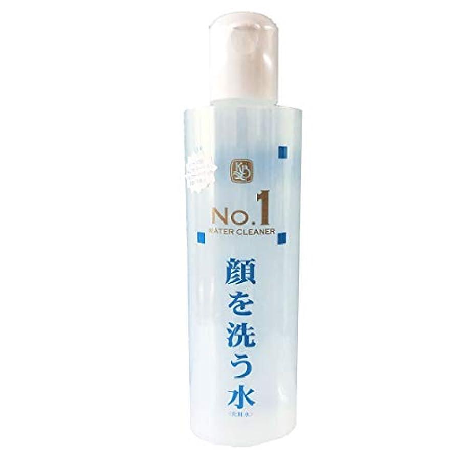 ためらう摂氏着服顔を洗う水 ウォータークリーナーNo1 250ml