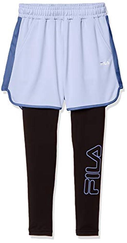 バンカー頑丈お誕生日[フィラ] パンツ ショートパンツ(レギンスSET) 吸水 速乾 UVカット FL5752 レディース