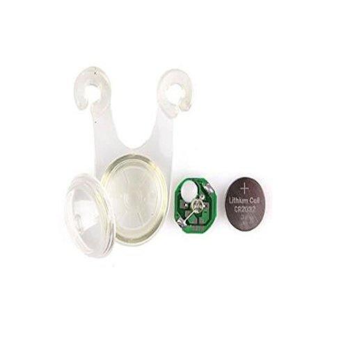 1stモール ロープ LEDライト 10個セット ライト キャンプ 転倒 事故 防止 夜間 照明 防災 ブルー ST-10-ROPEMAGIC-BL