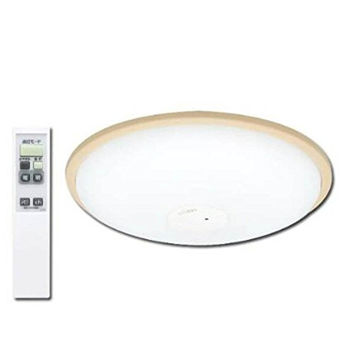アイリスオーヤマ LEDシーリングライト ~12畳 調光タイプ ブラウン CL12N-W1-T