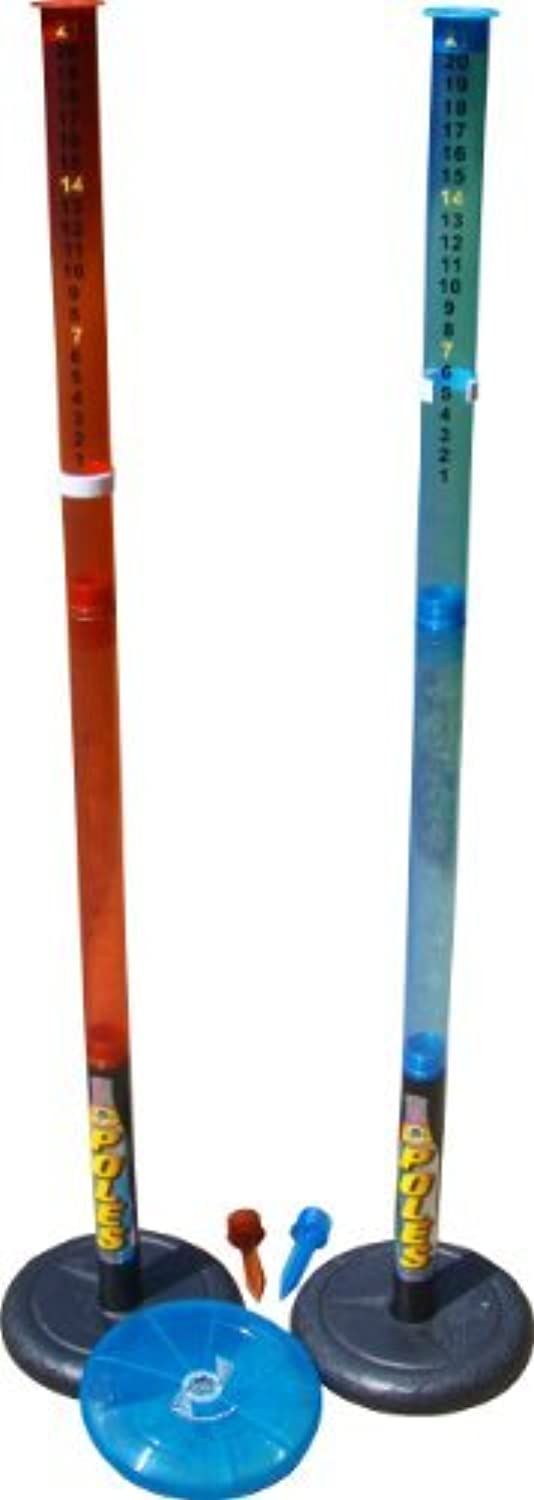 Water Sports Deluxe Poles Game with Disc and Poles [並行輸入品]