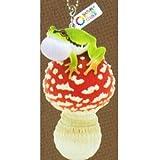 ネイチャーテク二カラーMONO PLUS キノコとアマガエル2 ボールチェーン&フィギュアマスコット [6.ベニテングタケ幼菌とアマガエル(ボールチェーン)](単品)