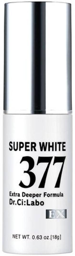 自動卒業勤勉ドクターシーラボ スーパーホワイト377EX 18g